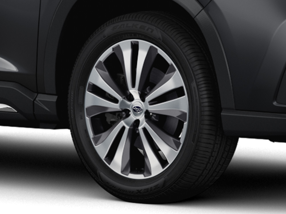 2019 Subaru Ascent 20-inch Aluminum Alloy Wheels – Dark Grey Metallic High Gloss