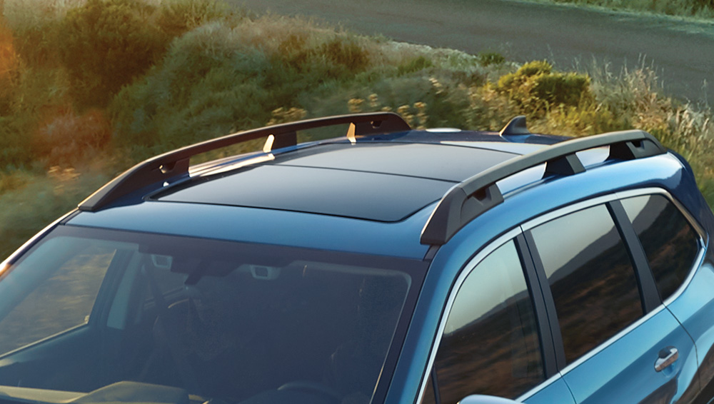 2019 Subaru Ascent Raised profile Roof Rails