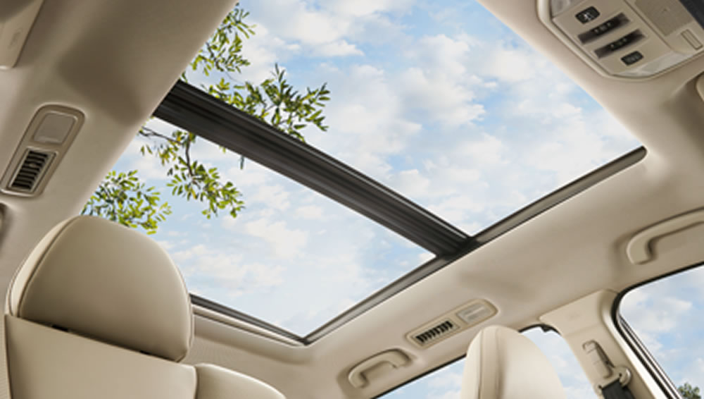 2019 Subaru Large Panoramic Sunroof